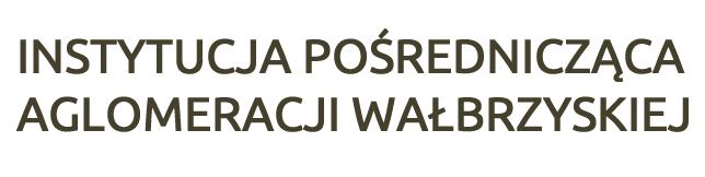 Instytucja Pośrednicząca Aglomeracji Wałbrzyskiej Logo