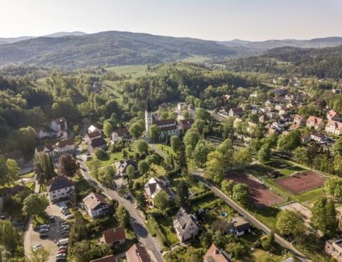 Atrakcyjny teren wJedlinie- Zdroju podbudowę obiektu hotelowego zusługami typu SPA