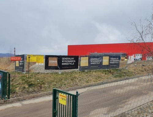 Nowa hala magazynowa wWałbrzychu już prawie ukończona.
