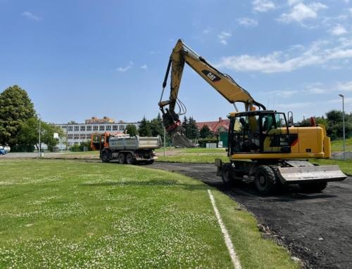 Stadion przy ul.Kusocińskiego zyska nowy blask