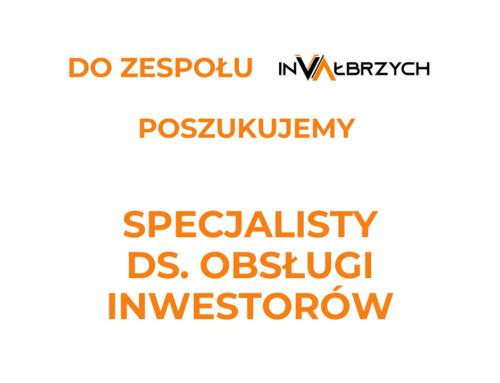 Dołącz dozespołu InVałbrzych!